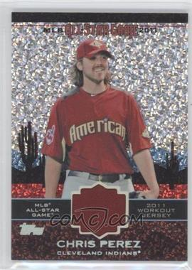 2011 Topps Update Series All-Star Stitches Relics Platinum #AS-14 - Chris Perez /60