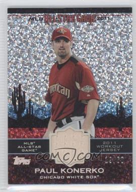 2011 Topps Update Series All-Star Stitches Relics Platinum #AS-28 - Paul Konerko /60