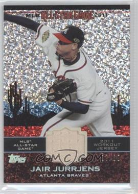 2011 Topps Update Series All-Star Stitches Relics Platinum #AS-41 - Jair Jurrjens /60