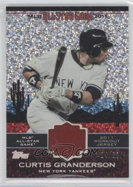 2011 Topps Update Series All-Star Stitches Relics Platinum #AS-5 - Curtis Granderson /60