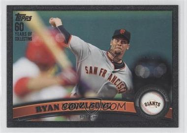2011 Topps Update Series Black 60 Years of Collecting #US94 - Ryan Vogelsong /60