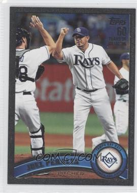 2011 Topps Update Series Black #US125 - Joel Peralta /60