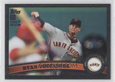 2011 Topps Update Series Black #US94 - Ryan Vogelsong /60