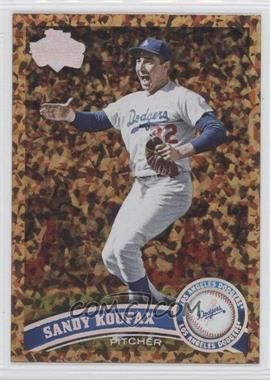 2011 Topps Update Series Cognac Diamond Anniversary #US140.2 - Sandy Koufax (Legends)