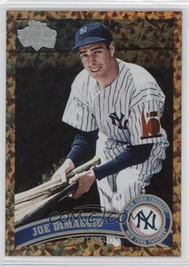 2011 Topps Update Series Cognac Diamond Anniversary #US18.2 - Joe DiMaggio (Legends)