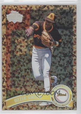 2011 Topps Update Series Cognac Diamond Anniversary #US249.2 - Ozzie Smith (Legends)