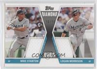 Mike Stanton, Logan Morrison /50