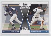 Hank Aaron, Jose Bautista