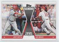 Joey Votto, Jay Bruce