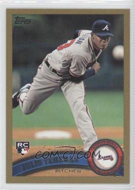 2011 Topps Update Series Gold 60 Years of Collecting #US152 - Julio Teheran /2011