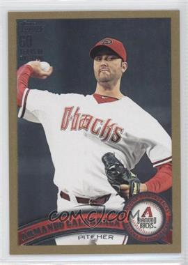 2011 Topps Update Series Gold 60 Years of Collecting #US314 - Armando Galarraga /2011