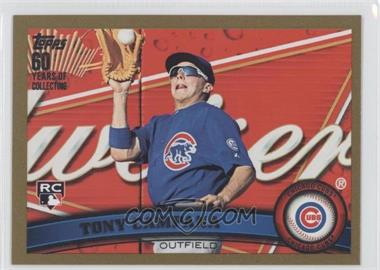 2011 Topps Update Series Gold 60 Years of Collecting #US57 - Tony Campana /2011
