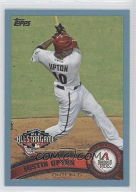 2011 Topps Update Series Wal-Mart [Base] Blue #US316 - Justin Upton