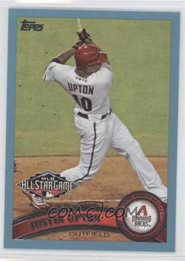 2011 Topps Update Series Wal-Mart Blue #US316 - Justin Upton