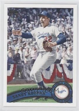 2011 Topps Update Series #US140.2 - Sandy Koufax (Legends)
