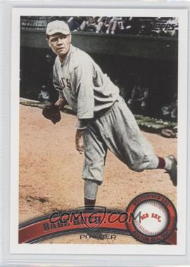 2011 Topps Update Series #US154.2 - Babe Ruth (Legend Variation)