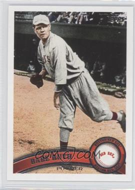 2011 Topps Update Series #US154.2 - Babe Ruth (Short Print)