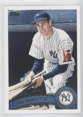 2011 Topps Update Series #US18.2 - Joe DiMaggio (Legends)