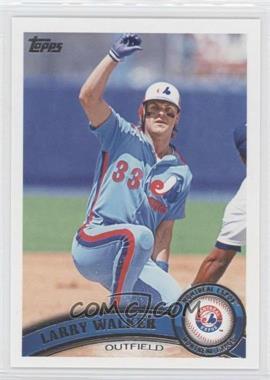 2011 Topps Update Series #US195.2 - Larry Walker (Legends)