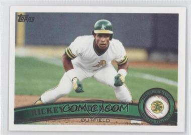 2011 Topps Update Series #US59.2 - Rickey Henderson (Legends)