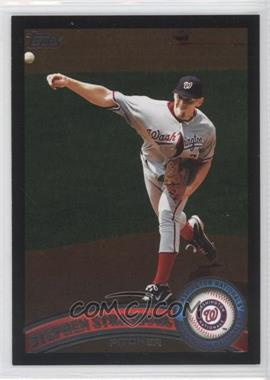 2011 Topps Wal-Mart All-Black #10 - Stephen Strasburg