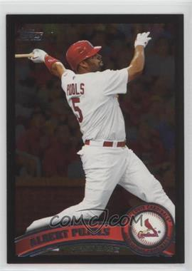 2011 Topps Wal-Mart All-Black #100 - Albert Pujols