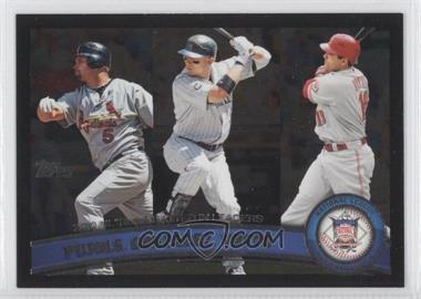 2011 Topps Wal-Mart All-Black #138 - Albert Pujols, Joey Votto
