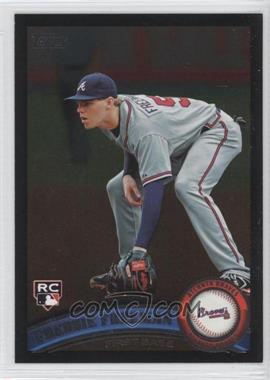 2011 Topps Wal-Mart All-Black #145 - Freddie Freeman