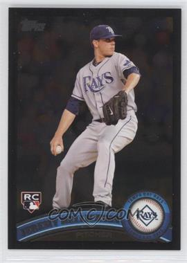 2011 Topps Wal-Mart All-Black #165 - Jeremy Hellickson