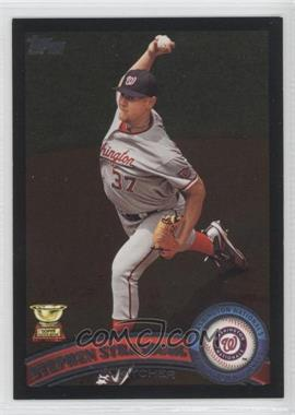 2011 Topps Wal-Mart All-Black #183 - Stephen Strasburg