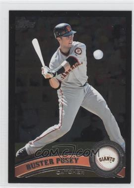 2011 Topps Wal-Mart All-Black #335 - Buster Posey