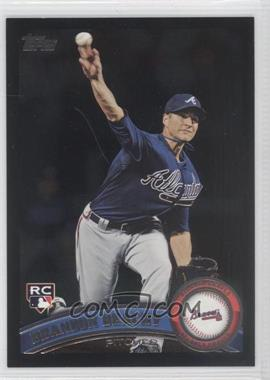 2011 Topps Wal-Mart All-Black #446 - Brandon Beachy