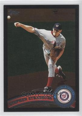 2011 Topps Wal-Mart [Base] All-Black #10 - Stephen Strasburg