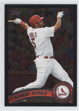 2011 Topps Wal-Mart [Base] All-Black #100 - Albert Pujols