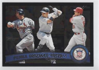 2011 Topps Wal-Mart [Base] All-Black #138 - Albert Pujols, Joey Votto