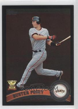 2011 Topps Wal-Mart [Base] All-Black #198 - Buster Posey