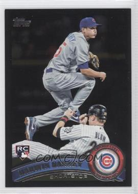 2011 Topps Wal-Mart [Base] All-Black #347 - Darwin Barney