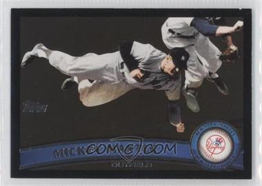 2011 Topps Wal-Mart [Base] All-Black #7 - Mickey Mantle