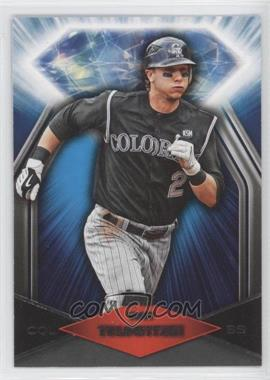2011 Topps Wal-Mart Blue Diamond #BDW24 - Troy Tulowitzki