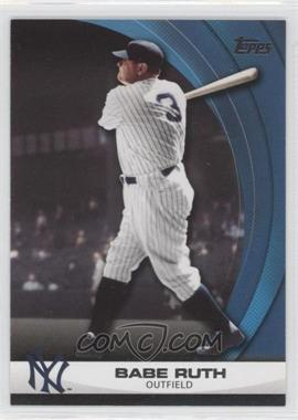 2011 Topps Wal-Mart Hanger Pack Inserts Blue #WHP1 - Babe Ruth