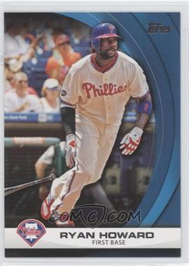 2011 Topps Wal-Mart Hanger Pack Inserts Blue #WHP18 - Ryan Howard