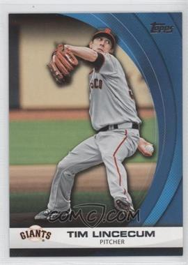 2011 Topps Wal-Mart Hanger Pack Inserts Blue #WHP25 - Tim Lincecum