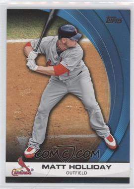 2011 Topps Wal-Mart Hanger Pack Inserts Blue #WHP28 - Matt Holliday