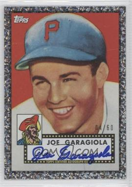 2011 Topps Wrapper Redemption Black Diamond Autographs [Autographed] #RA-34 - Joe Garagiola /60