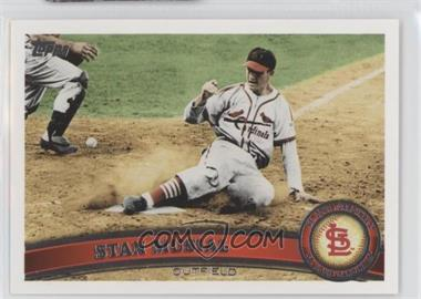 2011 Topps #100.2 - Stan Musial (Legends)