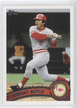 2011 Topps #198.2 - Johnny Bench (Legends)