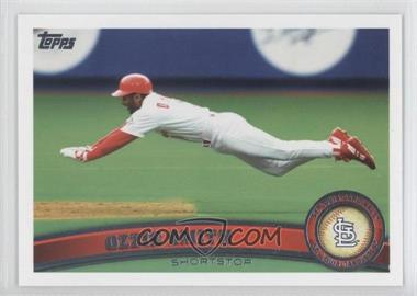 2011 Topps #199.2 - Ozzie Smith (Legends)
