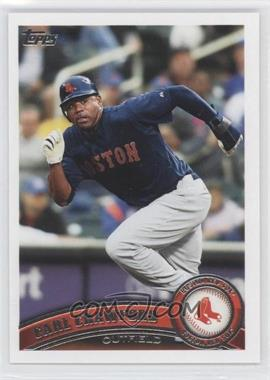 2011 Topps #25.3 - Carl Crawford (Red Sox)