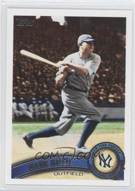 2011 Topps #271.2 - Babe Ruth (Legends)