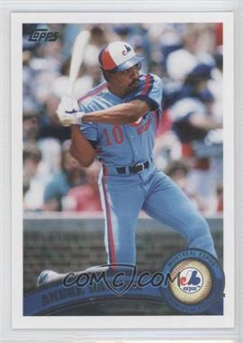 2011 Topps #375.2 - Andre Dawson (Legends)